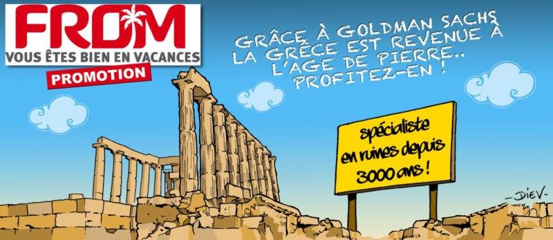 la grece vend ses sites historiques