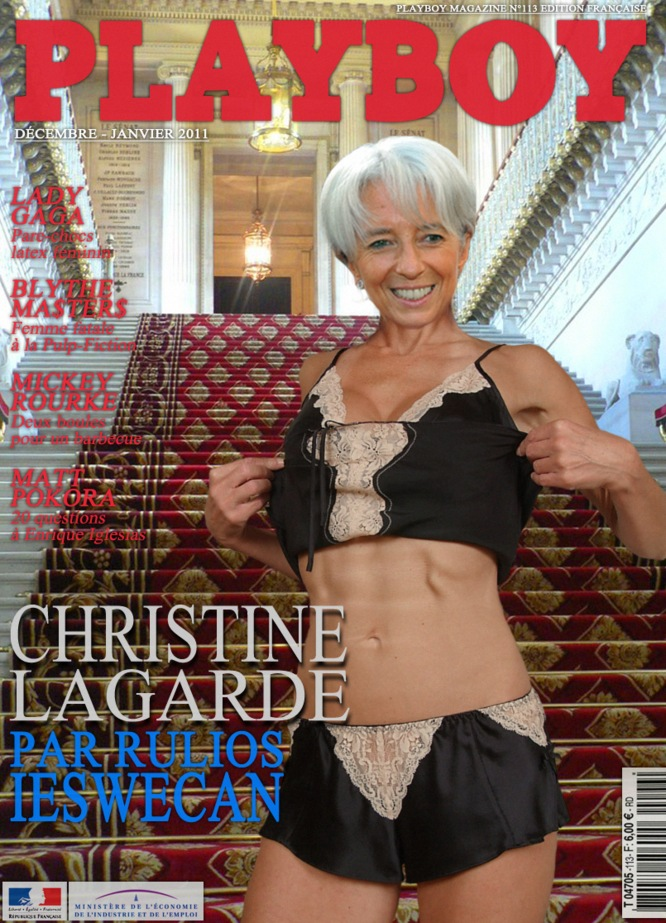 Christine Lagarde Photoshop Julius Ashfield