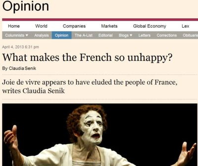 le french spleen dans le FT