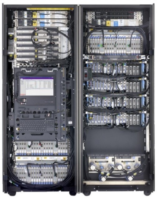 ibm z14 rear view