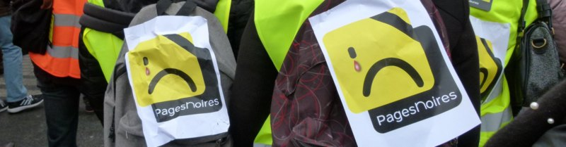 greve pages jaunes mars 2018